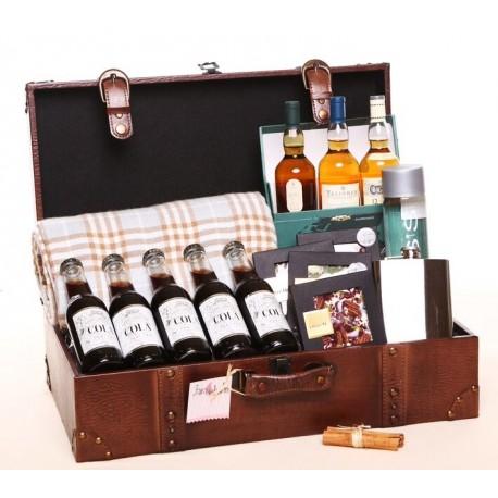 Maleta vintage al whisky