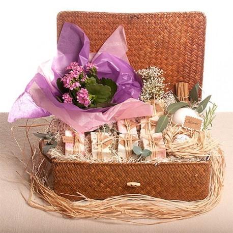 Jabón en flor